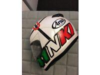 Arai Axces 2 Haga Monza White helmet XL