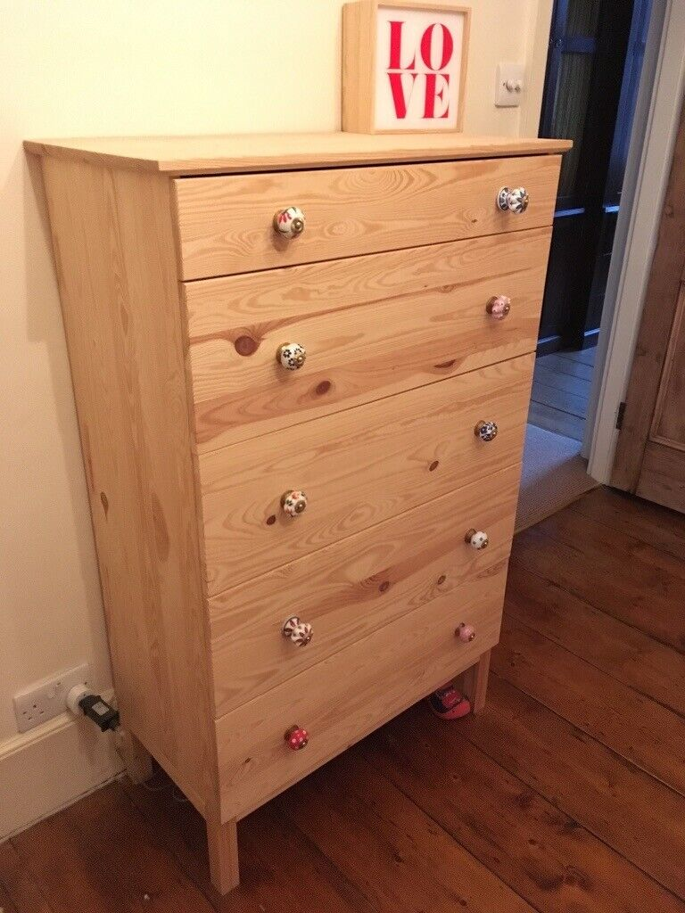 low priced e1e1f fb3c4 Ikea TARVA Chest of 5 drawers Pine | in Camden, London | Gumtree