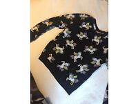 H&M unicorn cotton jumper