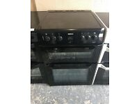 Beko BDVC664K 60cm Double Electric Cooker in Black #3208