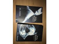 Fifty shades of grey and fifty shades taker books