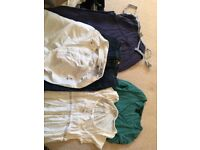 Maternity clothes sizes 8-10. Very good condition. Many items hardly worn.