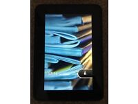 "Kindle Fire HD 16gb 7"" with Protective Case"