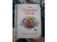 The Birthday Book Birthday, Anniversaries & Special Days to Remember