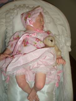 Reborn doll Quite LARGE sleeping baby girl. About 23 inches Johnsonville East Gippsland Preview