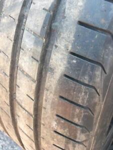 2 x 295/35/20 Pirelli Pzero ete 7/32