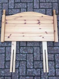 Single Bed Pine Head-board