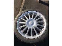 """4x 17"""" wheels off MG ZR"""