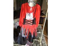 Little dead riding hood Sz 16/18 Halloween