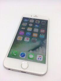 iPhone 6 - o2, tesco mobile, giffgaff - 16GB - silver / white