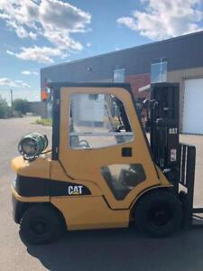 CABINE - CAB Chariot elevateur fork lift CAT Caterpillar P5000 5000 lbs comme neuf