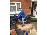 Excellent condition cbf 500 very low mileage full service history