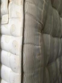 Quality Simmons Kingsize pocket sprung mattress-£50 delivered