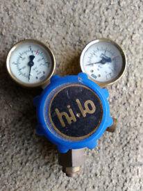 Welding Gas valve and gauges