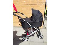 Mamas and Papas 3 in 1 pram buggy and car seat