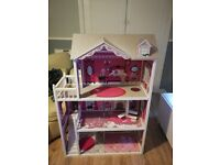 Large barbie doll sized house