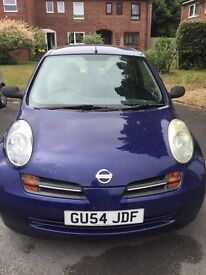 Nissan Micra 2004 ONLY 77437 MILES