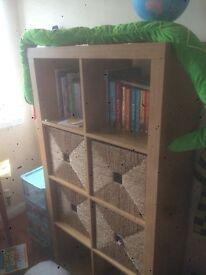 Shelf and storage unit