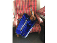 Chilren's 3/4 violin, bow and case for sale