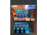 Boss me 50 Effects pedal