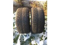 Snow/Winter Tyres, low profile 235/40 R18
