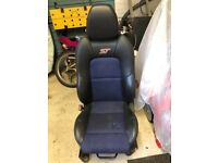 Ford Fiesta ST front seat