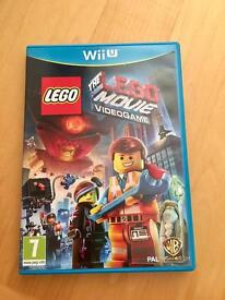 Wii U Game Lego Movie VGC