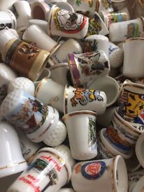 A collection of 180 THIMBLES !!!