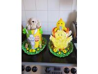 Hand made easter bonnets and hats for girls and boys