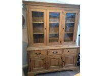 Solid Oak dresser (Old Creamery)