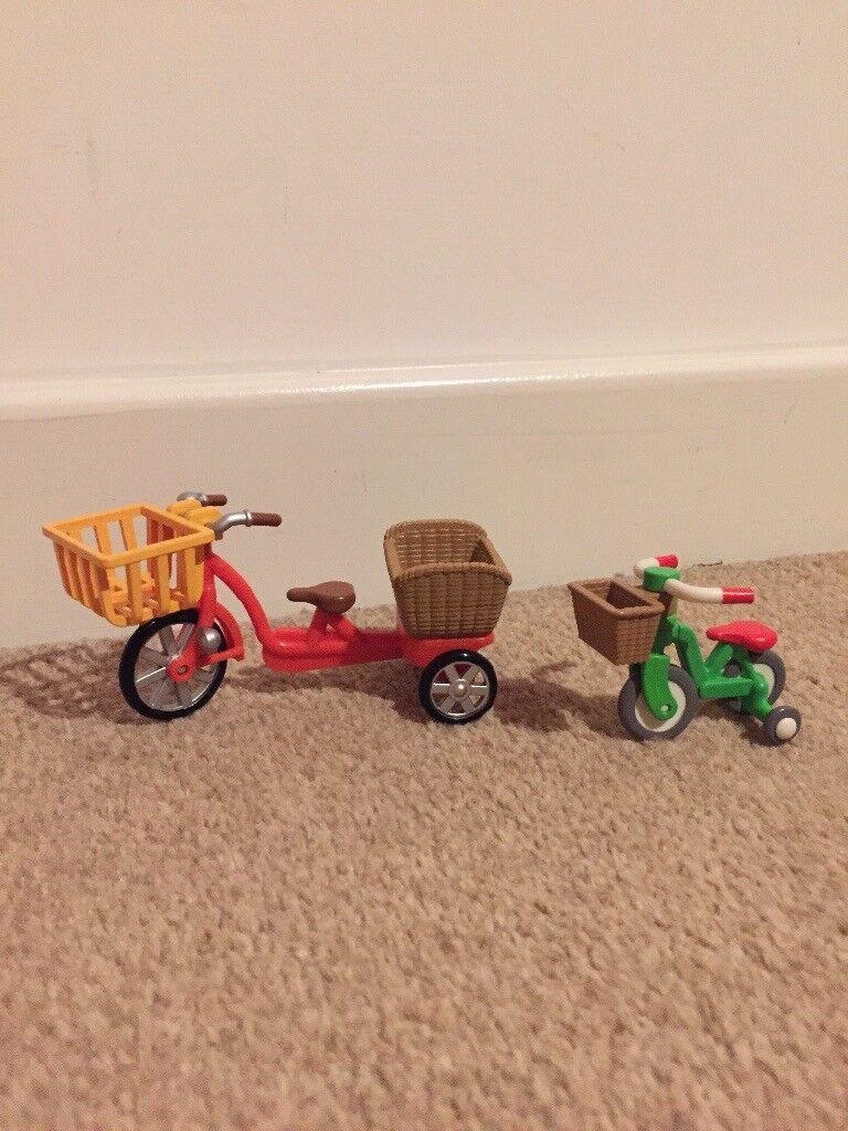Sylvanian bikes