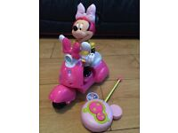 Remote control Minnie Mouse scooter