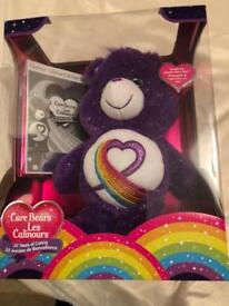 RARE ~ CareBears Rainbow Heart 35th Anniversary