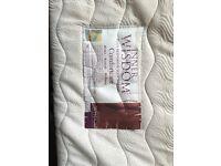 Memory Foam Mattress & Pine Double Bed