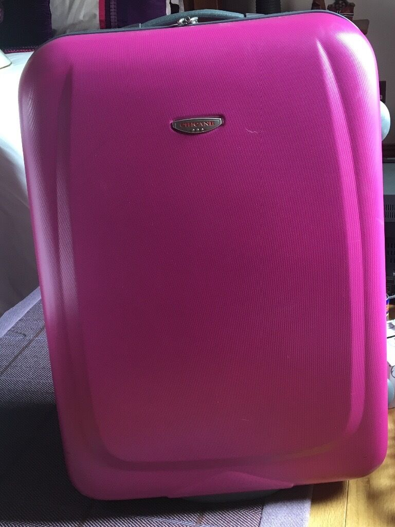 Brand new bright pink suitcase | in Inverness, Highland | Gumtree