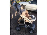 Graco Pram with motion control
