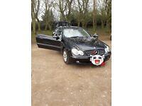Mercedes benz clk 240 2002 Manual, petrol Millage: 152200 4 seats Need change back suspension 950£