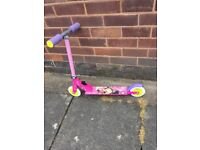 Disney Minie Mouse Scooter hardly used excellent condition
