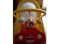 Little tikes baby bouncer with sounds and vibration excellent condition