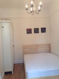 A bright and clean double room