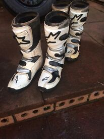 Youth Mx boots size 7