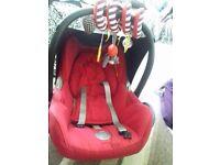 Maxi cosy baby car seat like new