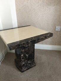 Alfrank Marble lamp tables