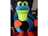 Giant Frog Plushie Teddy