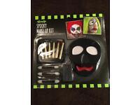 Spooky face paint set.