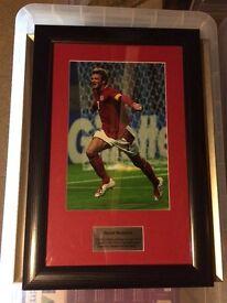 Framed: David Beckham