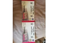 2 Saturday and Sunday non Camping Creamfields Tickets.