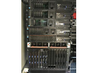 Datacentre Clearout - IBM Servers, IBM SAN Arrays, 10GB Ethernet Switches, Disks, Adapters, More