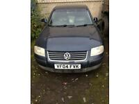 Vw passat 1.9 tdi pd130 highline breaking
