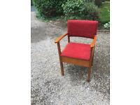 ** commode chair **